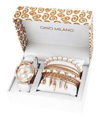 Gino Milano damski zestaw zegarek z bransoletkami MWF16-033C