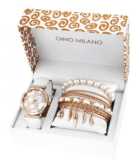 Gino Milano dámská sada hodinek s náramky MWF16-033C