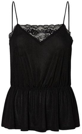 Vero Moda Dámské tílko Vera Singlet Top Jrs Black (Velikost XL)