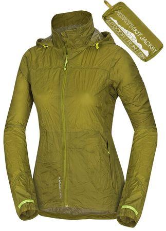 Northfinder ženska jakna Northkit, Macawgreen, zelena, S