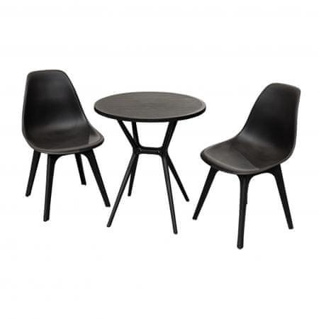 Doppler plastična miza in stola Active, set