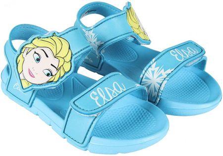 Disney dievčenské sandále Frozen 26.5 modrá