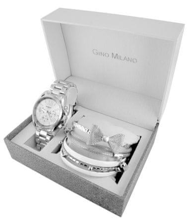 Gino Milano komplet ženske ročne ure in 6 zapestnic MWF14-028B - Odprta embalaža