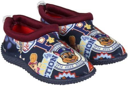 Disney chlapčenské topánky do vody Paw Patrol 23 modrá
