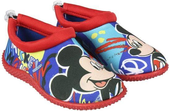 Disney chlapecké boty do vody Mickey Mouse 24 červená/modrá