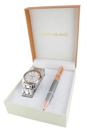 Gino  Milano dámská sada hodinek s perem MWF16-093