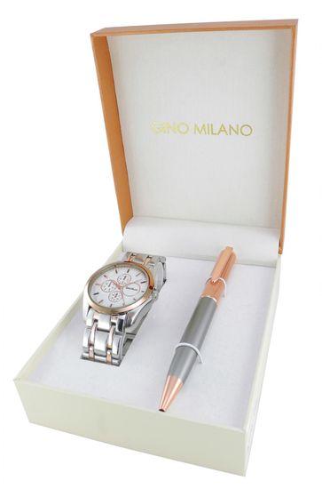 Gino Milano dámska sada hodiniek s perom MWF16-093