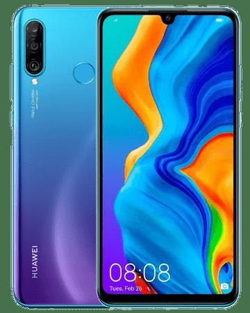 Huawei Pametni telefon P30 lite, 4 GB/128 GB, Peacock Blue, plavi