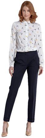 Nife dámské kalhoty 36 tmavo modrá