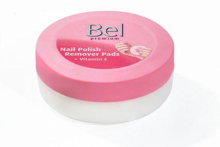 Bel Premium mokre chusteczki zmywacz do paznokci polski 30 sztuk