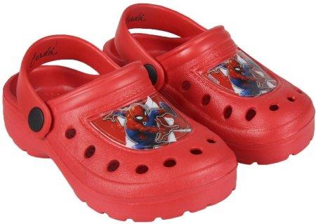 Disney sandały chłopięce Spiderman 24.5 czerwone