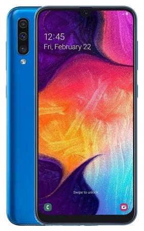 Samsung Galaxy A50, 4GB/128GB, modrý