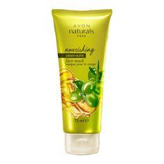 Avon Tápláló arc maszk olívaolajjal Natura l s (Nourishing Face Mask) 75 ml