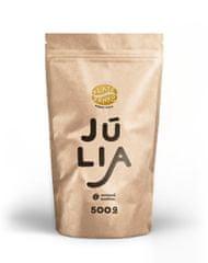 """Zlaté Zrnko - Júlia (Zmes arabica - 100%) """"PESTRÁ"""" zrnková káva 500g"""