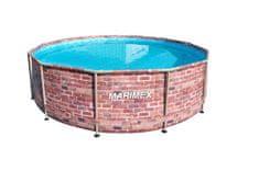 Marimex Florida tégla mintázatú medence 3,66 x 0,99 m 1034024