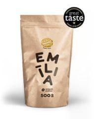 """Zlaté Zrnko  - Emília (Zmes arabík - 100%) """"VYVÁŽENÁ"""" zrnková káva 500g"""