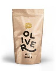 """Zlaté Zrnko - Oliver (Zmes arabica 90% a robusta 10%) """"LAHODNE HORKÝ"""" zrnková káva 500g"""