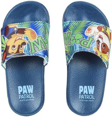 Disney klapki chłopięce Paw Patrol 24.5 ciemnoniebieskie