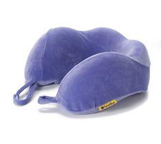 TravelBlue Ergonomicky tvarovaný krční polštářek z paměťové pěny, fialový TBU212P