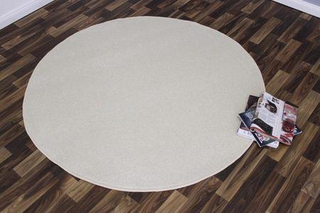 Hanse Home Kusový koberec Nasty 101152 Creme kruh 200x200 kruh