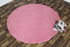 Hanse Home Kusový koberec Nasty 101147 Pink kruh