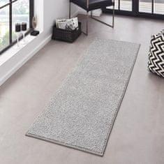 Hanse Home Kobercová sada Pure 102615 Grau (Rozměry koberců (3 díly; 2x 70x140 cm; 1x 70x240 cm))