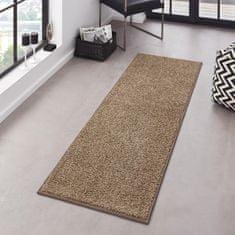 Hanse Home AKCE: Kobercová sada Pure 102614 Braun (Rozměry koberců (3 díly; 2x 70x140 cm; 1x 70x240 cm))