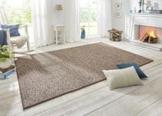 BT Carpet Ložnicová sada Wolly 102841 Brown (Rozměry koberců 2 kusy: 67x140 + 1 kus: 67x250)