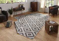 Bougari AKCE: 80x150 cm Kusový koberec Twin-Wendeteppiche 103132 grau creme