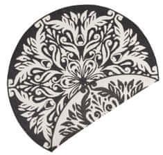 Bougari Kusový koberec Twin Supreme 103417 Madrid black creme