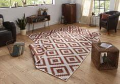 Bougari Kusový koberec Twin-Wendeteppiche 103130 terra creme