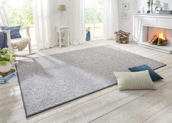 BT Carpet Ložnicová sada Wolly 102840 Grey (Rozměry koberců 2 kusy: 67x140 + 1 kus: 67x250)