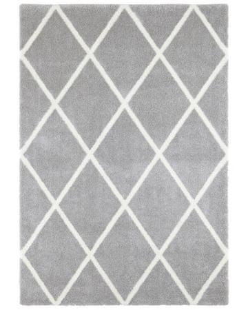 Elle Decor Kusový koberec Maniac 103650 Silver Grey/Cream z kolekce Elle 80x150