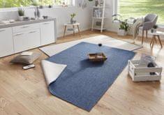 Bougari AKCE: 80x150 cm Kusový koberec Twin-Wendeteppiche 103100 blau creme
