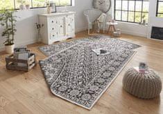 Bougari Kusový koberec Twin-Wendeteppiche 103113 schwarz creme