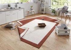 Bougari Kusový koberec Twin-Wendeteppiche 103106 creme terra