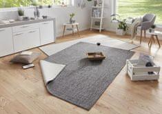 Bougari Kusový koberec Twin-Wendeteppiche 103097 grau creme