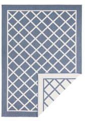 Bougari AKCE: 80x350 cm Kusový koberec Twin Supreme 103426 Sydney blue creme