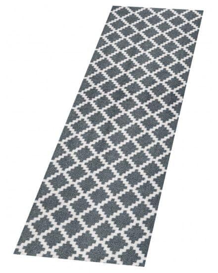 Zala Living Protiskluzový běhoun Home Grey Anthracite 103157 50x150