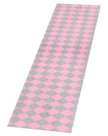 Zala Living Protiskluzový běhoun Home Rose Grey 103166 50x150