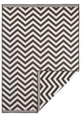 Bougari AKCE: 80x150 cm Kusový koberec Twin Supreme 103433 Palma black creme