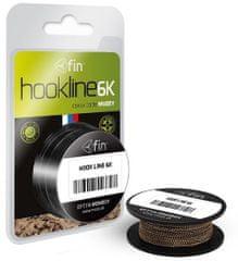 FIN Náväzcová Šnúrka Hookline 6K Muddy 20 m