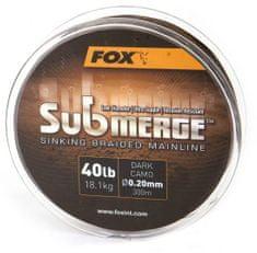 FOX Splietaná Šnúra Submerge Sinking Braided Mainline Camo 300 m