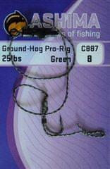 Ashima Náväzce Ground-hog+C887 2ks Zelené