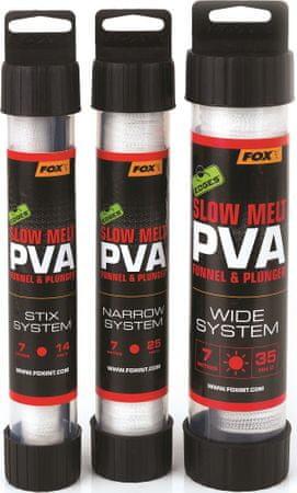 FOX PVA Pančucha Edges Slow Melt PVA Mesh System 7 m 25 mm