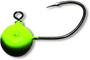 1 - Black Cat Jiggová Hlavička Fireball Zelená 7/0 120 g