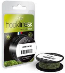 FIN Náväzcová Šnúrka Hookline 6K Grass 20 m