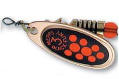 Mepps blyskáč black fury oranžová / zlatá