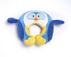 TravelBlue Dětský cestovní krční polštářek a hračka – Tučňák Puffy TBU281