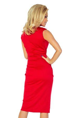 01340c549 Numoco Dámske šaty 144-2, červená, XS | MALL.SK